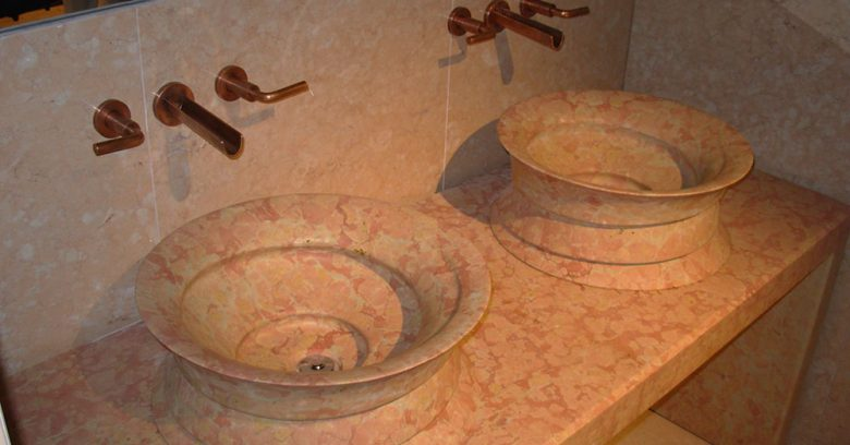 Lavandini in marmo - arredo bagno
