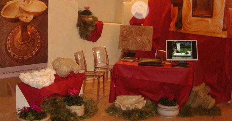 Assisi 2010 - Esposizione opere in marmo