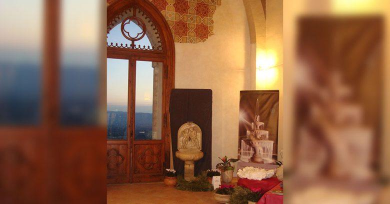 Opere arte sacra in marmo - Assisi 2010 - Esposizione
