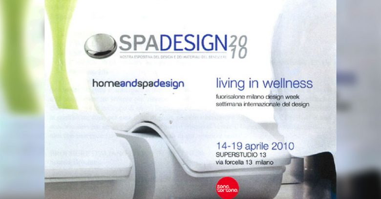 home spa design Milano fuorisalone 2010