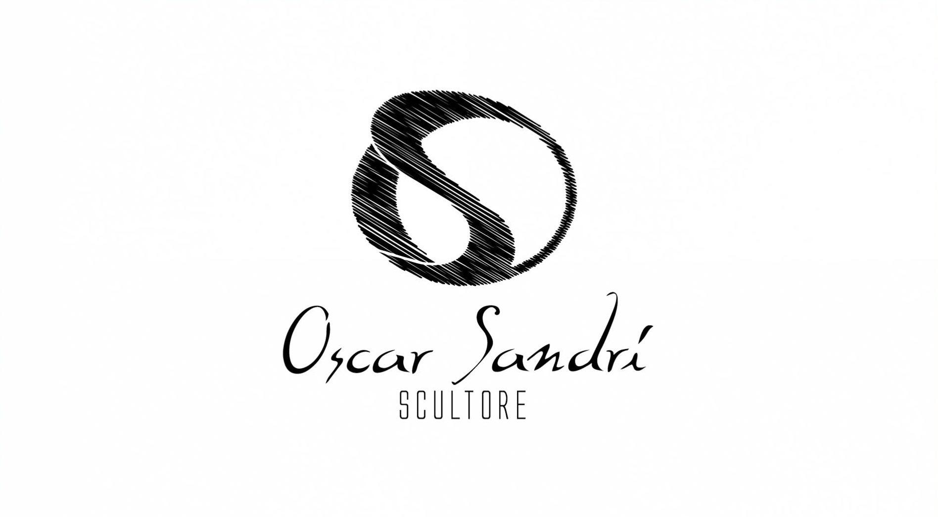 Logo - Oscar Sandri Scultore - Fontane in marmo, lapidi, arte sacra